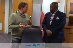 Peter Neilson and Mongameli Bobani