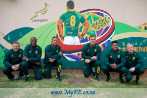 #LoveRugby mural