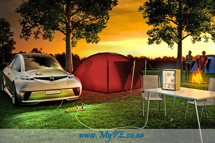 Continental Allcharge Camping