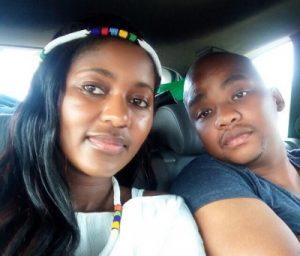Pholile Hlope and Nkosinathi Maneli