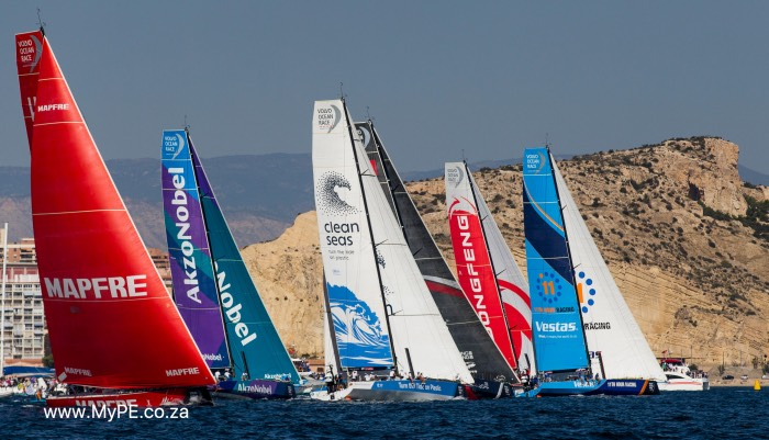 Alicante stopover. MAPFRE In-Port Race Alicante.