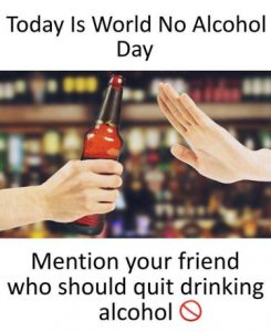 World No Alcohol Day