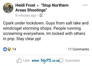Cleary Park Lockdown