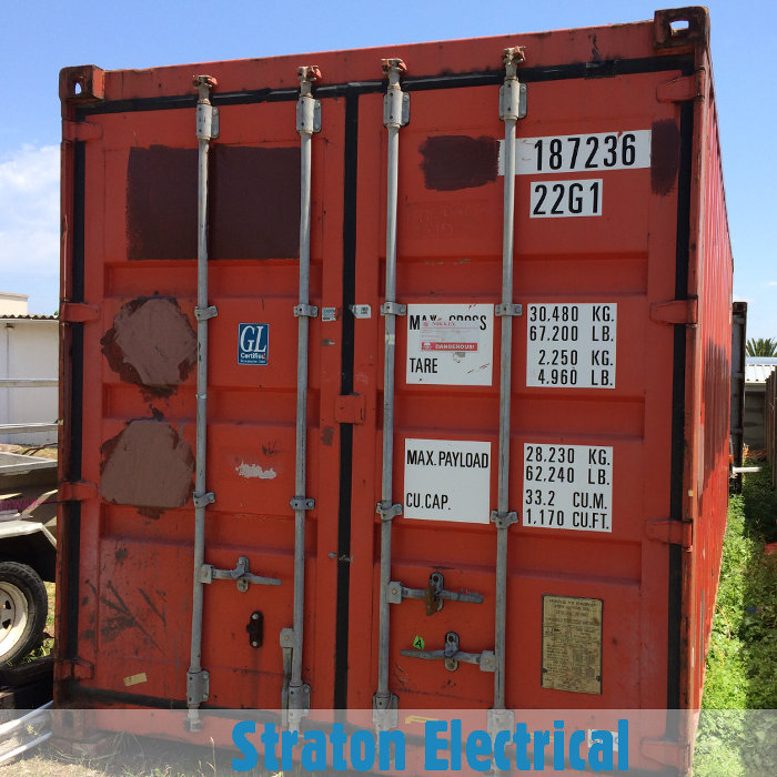 Straton Electrical Container Office for Hire