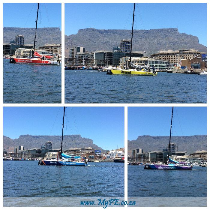Leg 3 Start - Cape Town