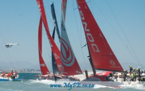 Leg 3 Start - Volvo Ocean Race, Cape Town to Melbourne