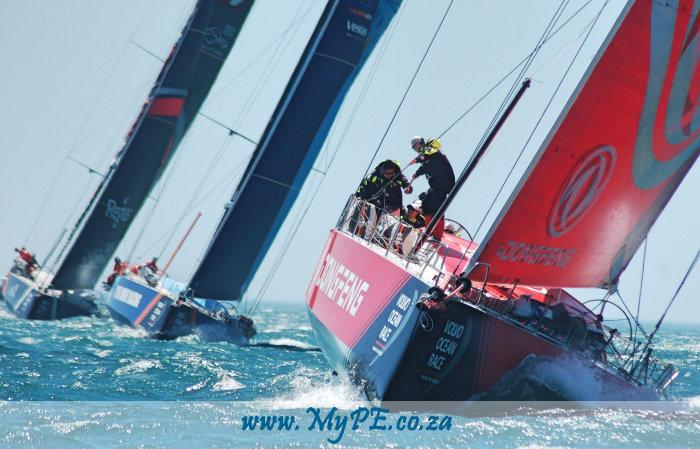 Leg 3 Start - Volvo Ocean Race, Cape Town to Melbourne