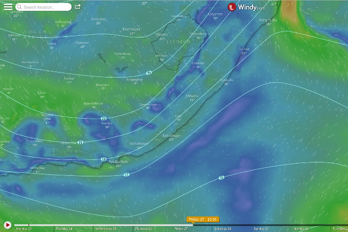 Vasco Da Gama expected weather - Friday