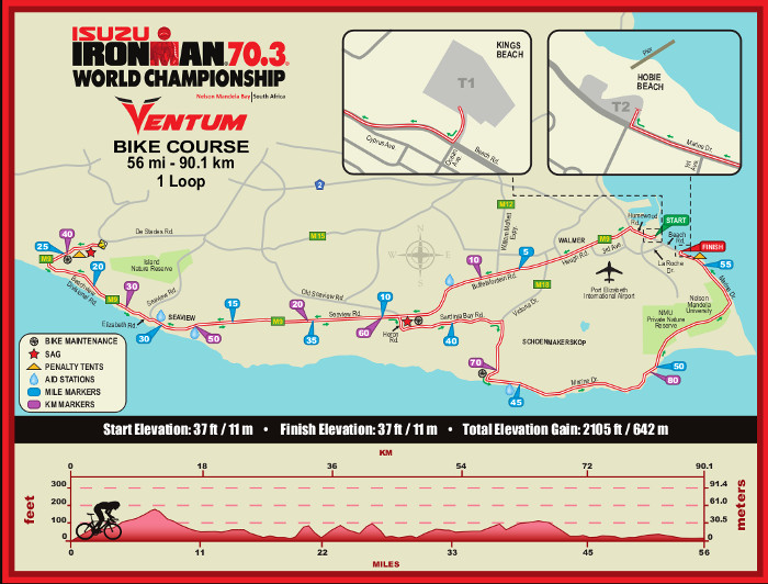 2018 Isuzu Ironman Bike Course