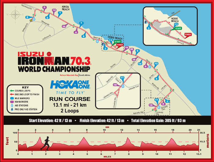 2018 Isuzu Ironman Run Course