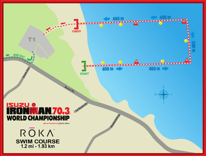 2018 Isuzu Ironman Swim Course