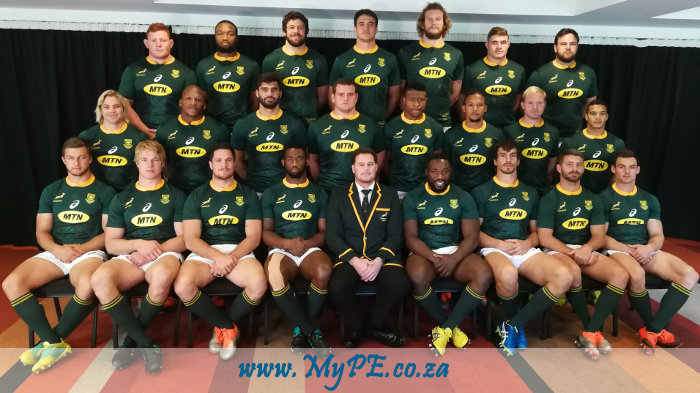 Springboks vs All Blacks
