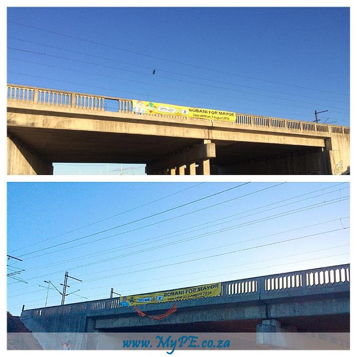 Bobani for Mayor Election Banner