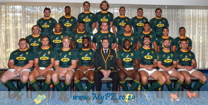 Springbok Team September 2018