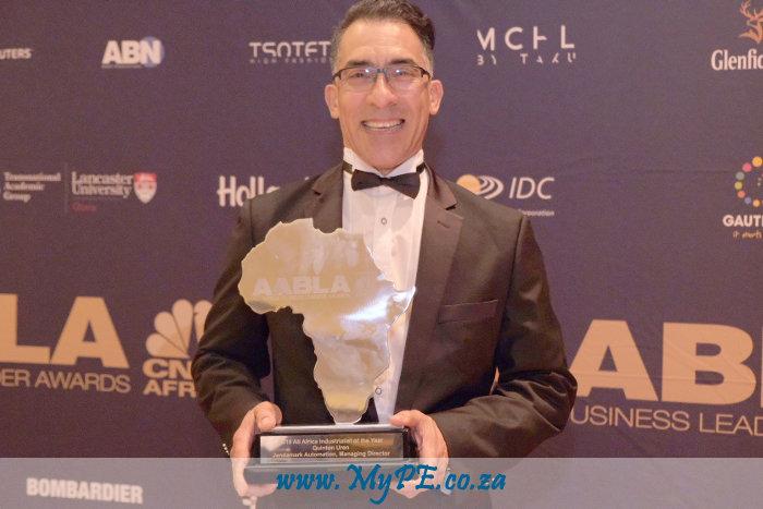 Quinton Uren - Industrialist of the Year Award