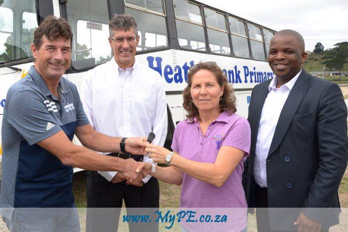 Heatherbank Bus Handover