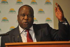 Tito Mboweni CDC