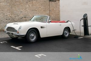 Electric Aston Martin DB6 Volante