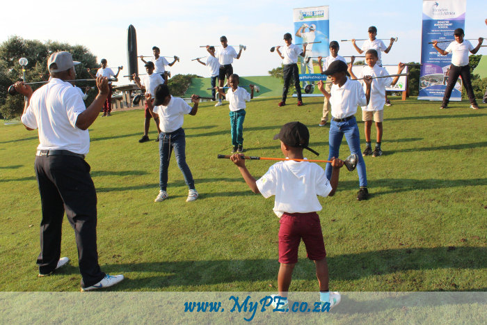 Golf Clinic - Collin Mavuso