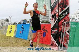 Nelson Mandela Bay Triathlon star, Keegan Cooke, showed his class at Sunday's NMB Triathlon's Duathlon Championship event at Pollok beach.