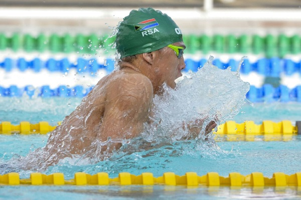 Madibaz swimmer Alaric Basson will compete in his highest ranked event yet when he represents South Africa in the World Aquatics Championships in Gwangju, South Korea, from July 12 to 28. Photo: Supplied