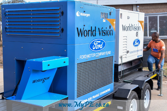 Watergen Atmospheric Water Generator