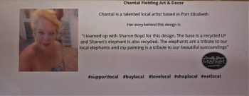 chantal fielding for art and decor, locally yours market