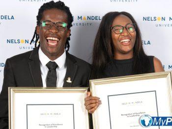Lawrence Lwanga and Thina Ntsaluba