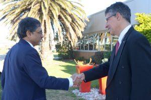 Ebrahim Patel and Michael Sacke