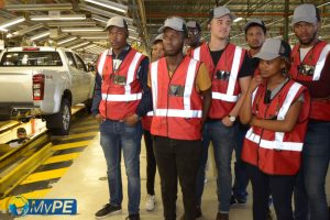 Mechatronics Students Isuzu