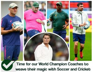 Rugby World Champion Coaches