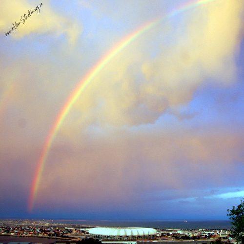 Nelson Mandela Bay Stadium Rainbow