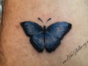 AWS Butterfly Tattoo