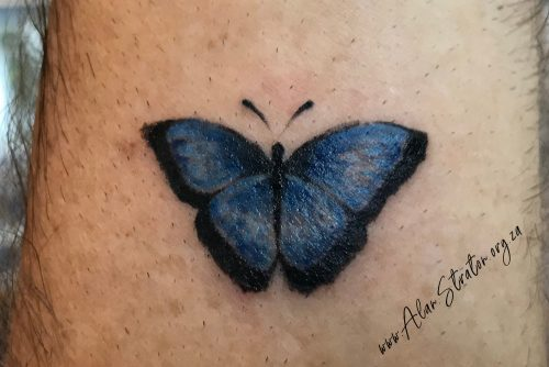 AWS Butterfly Tattoo