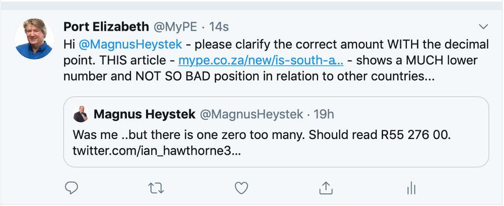 Magnus Heystek Question