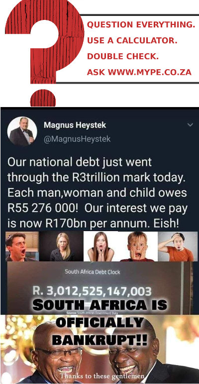 SA Is Officially Bankrupt