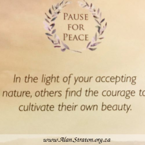 Pause for Peace